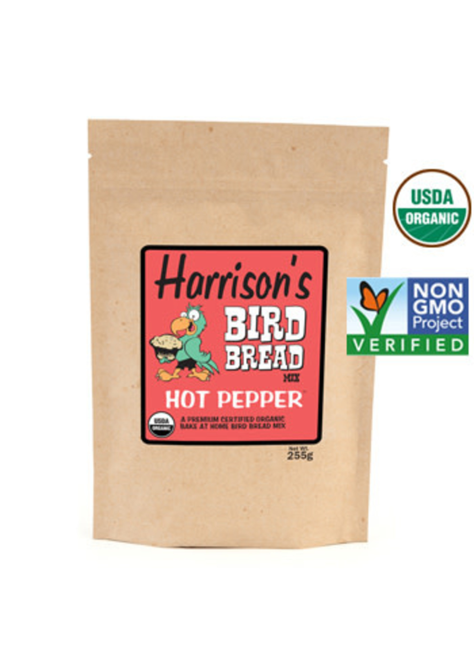 Harrison's Harrison's Bird Bread Hot Pepper 255gram