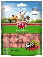 Kaytee Kaytee Fiesta Strawberry Flavour Yogurt Chips Small Animal 3.5OZ