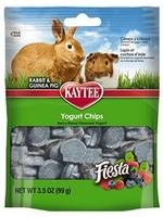 Kaytee Kaytee Mixed Berry Flavour Yogurt Chips Rabbit Guinea Pig Small Animal 3.5OZ
