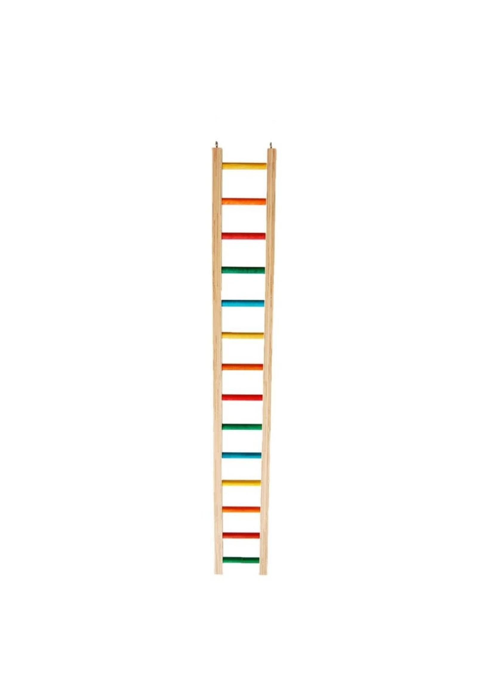 """Zoo-Max Hardwood Ladder (4.50""""W) 3 FEET"""