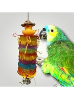 Jolly Jungle GP  PINATA PARROT BIRD TOY WITH RUBBER DUCK A663