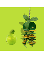 A&E  Small Apple Bird Toy HB01421