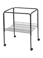 """A&E Cage Stand 25""""x21""""  Black"""