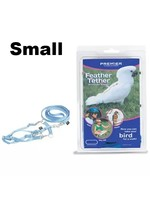 Premier Feather Tether Bird Harness and Leash Small Royal Blue