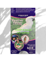 Premier Feather Tether Bird Harness and Leash Small Green