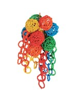 Kings Cages Kings Wicker Ball Bouquet Large P715