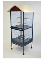 Glitter Pets GP Flight Cage with Removable Divider 39189