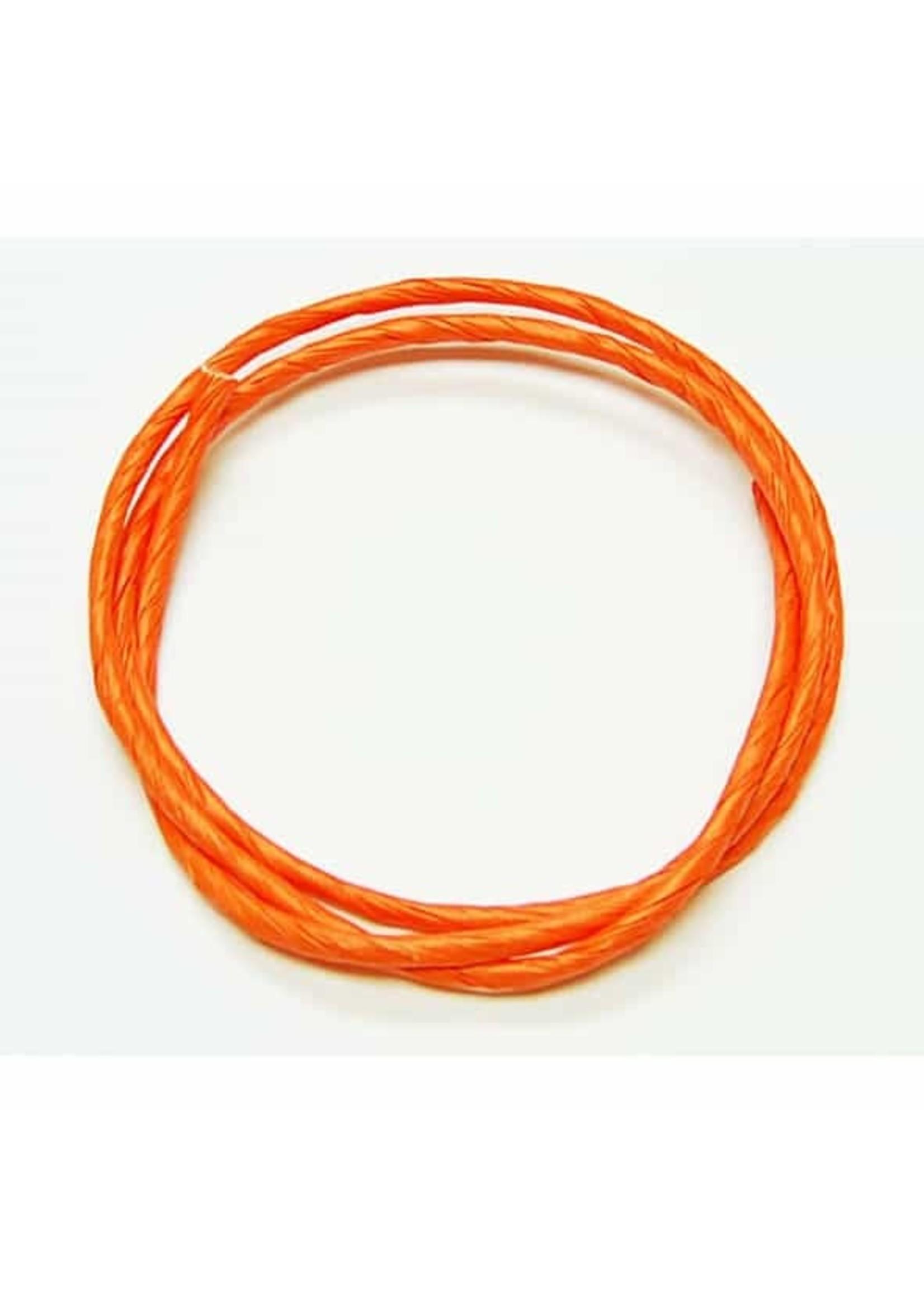 "Zoo-Max Zoo Max Orange Paper Rope (.125 x 1/4"")"