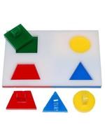"Zoo-Max Psitta Puzzle Step #1 Small (Base 4"" x 2.5"")"