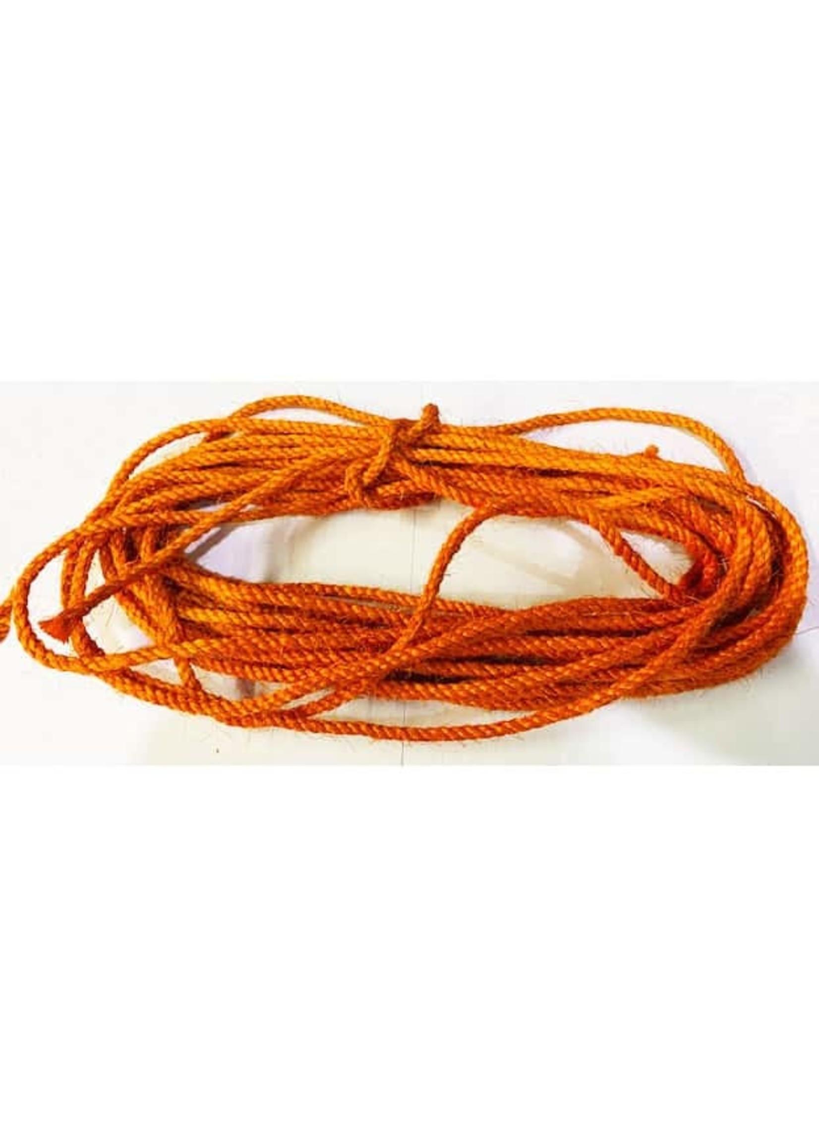 """Zoo-Max Zoo Max Orange Sisal Rope per Foot (1/4"""" diameter) per foot"""