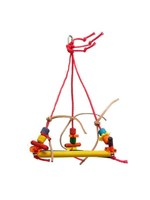 Zoo-Max Zoo Max Pyramid Perch (W:6″) (with paper rope)