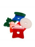 CND Acrylic Mixed Shapes 1.50″ (H3/8″) P200352
