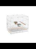 Prevue Hendryx PREVUE  HENDRYX  Travel Cage  White ( 20 x 12.5 x 15.5)