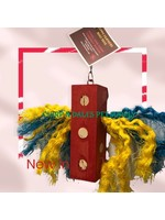 Happy Feathers Happy Feathers Sisal & Cork Chunky Block Assorted Colours