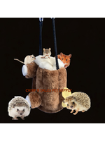A&E A&E Happy Beaks Stumpy Hut For Small Animals