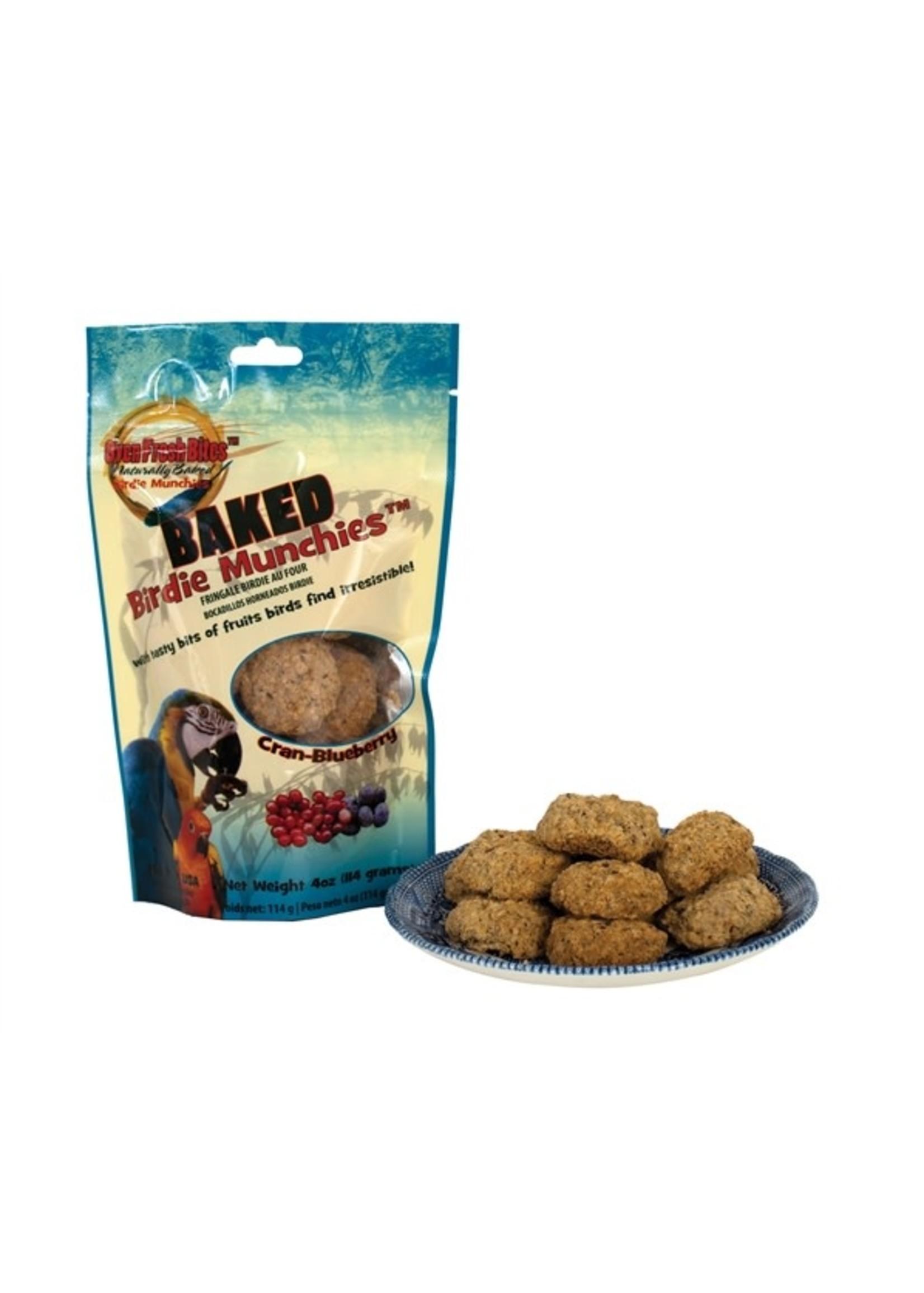 Sunseed/Vitakraft Caitec Birdie Munchies Cran-Blueberry (4oz)