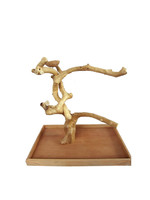 """A&E A&E Java Wood Table Top Play Stand AE500XL  (28""""x18""""x27"""" XLarge)"""