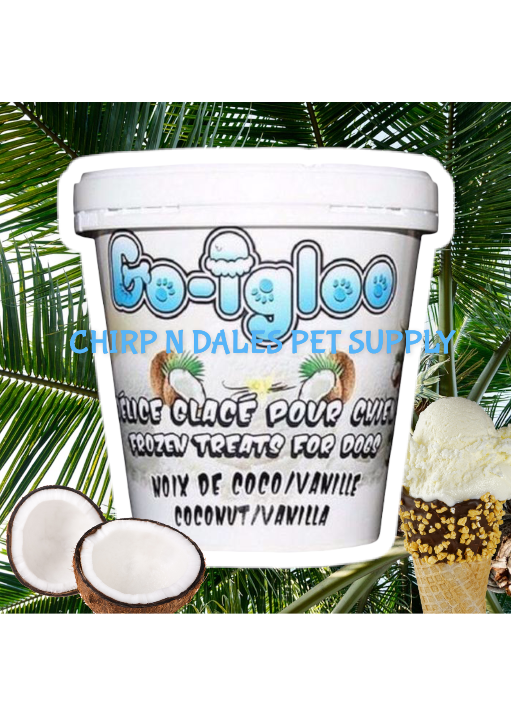 Go Igloo Coconut/Vanilla Frozen Treat