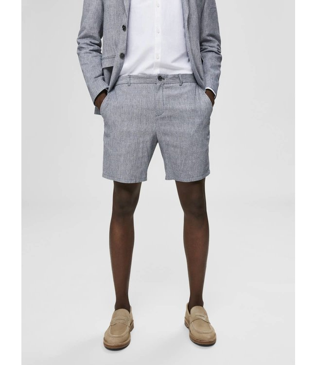 Selected Homme Selected Homme Blue & White Short