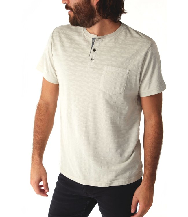 PX Axel Striped Henley-Ice
