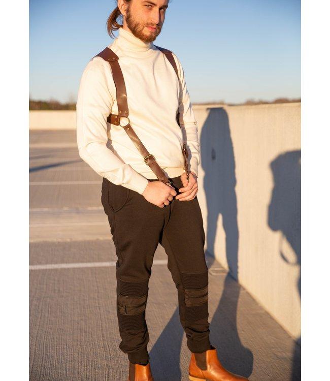 Young Republic Zipper Skinny Jogger Sweatpant