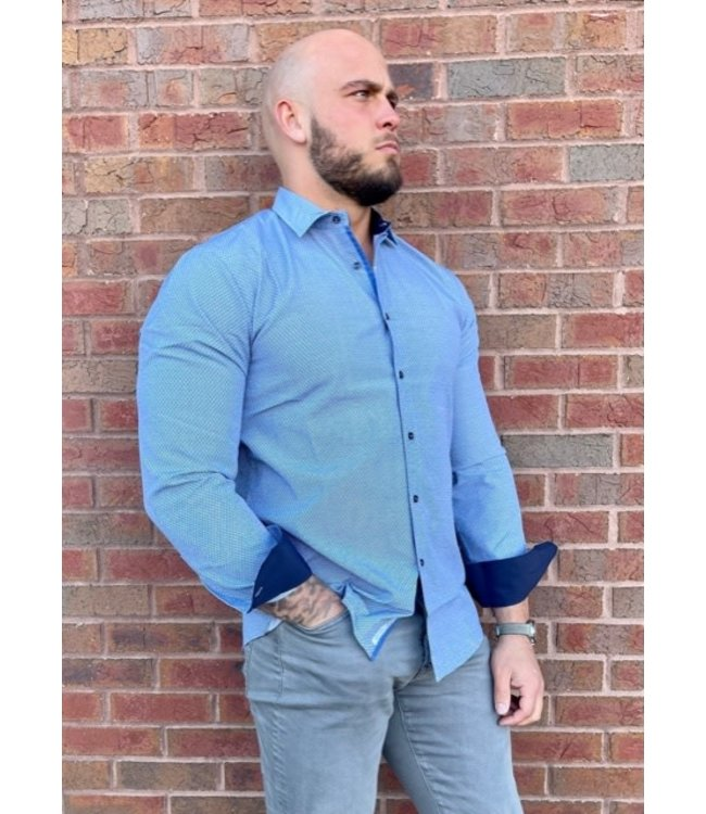 Young Republic Damien French Blue Button Down