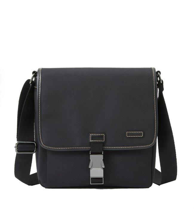 Grey Fox Designs Mid Messenger Micro Black Bag