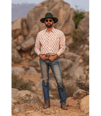 Dushyant Asthana The Bandit Floral Western Shirt