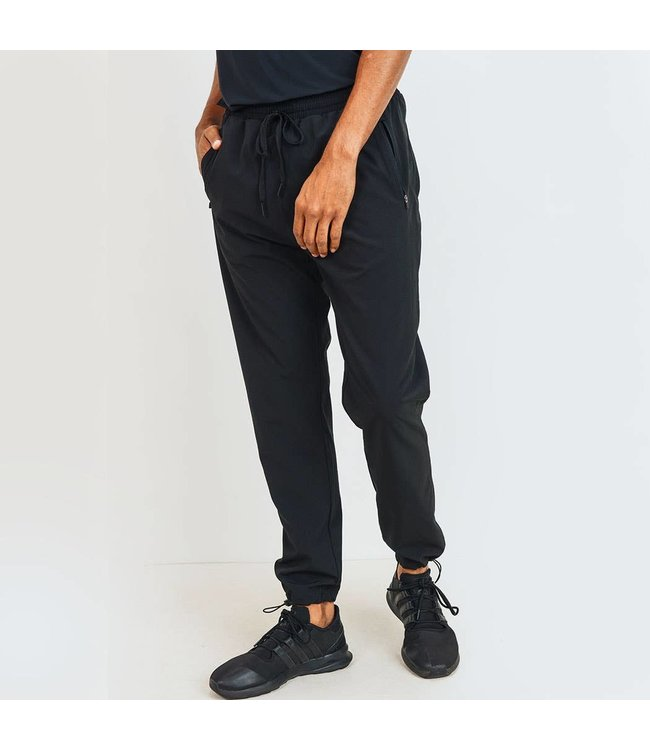 Mono B Cinched Ankle Joggers