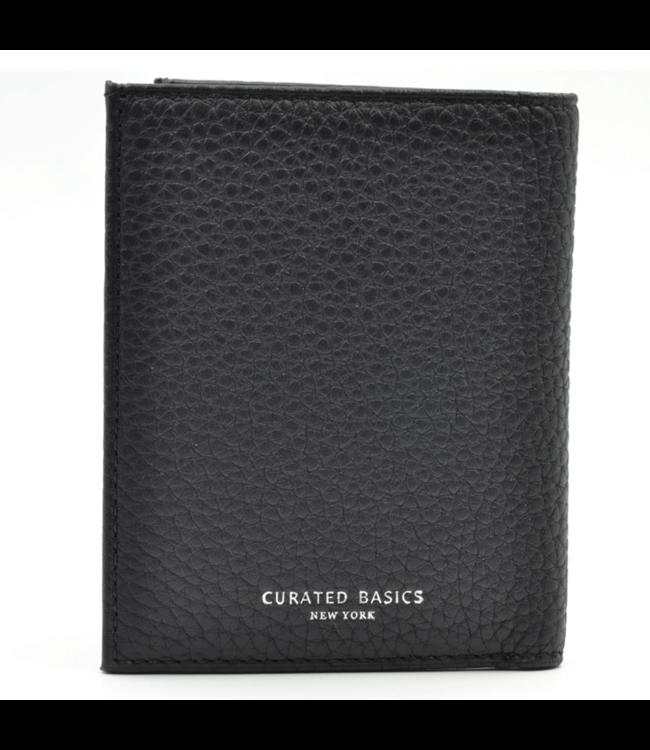 Curated Basics Pebble Grain Bill-fold Wallet