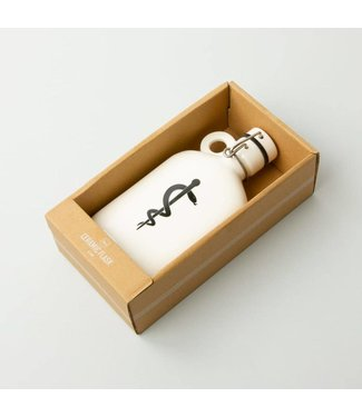Men's Society Ceramic Flask - Medicine