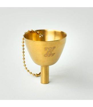Men's Society Gold Flask Funnel