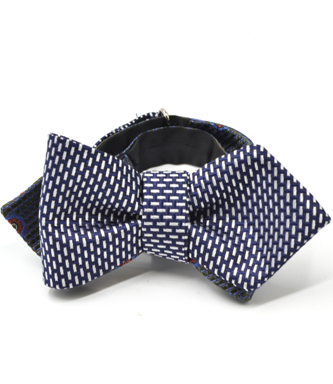 Curated Basics Foulard Dash Reversible Bow Tie