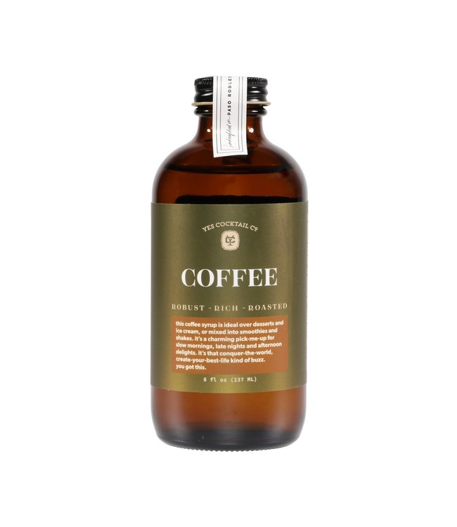 Yes Cocktail Co Cold Brew Coffee Syrup
