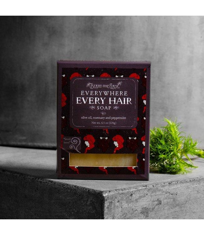 Beard and Lady Vegan Rosemary Peppermint Shampoo Bar