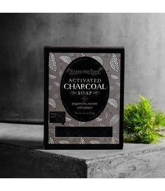 Beard and Lady Vegan Charcoal Peppermint Tea Tree Soap