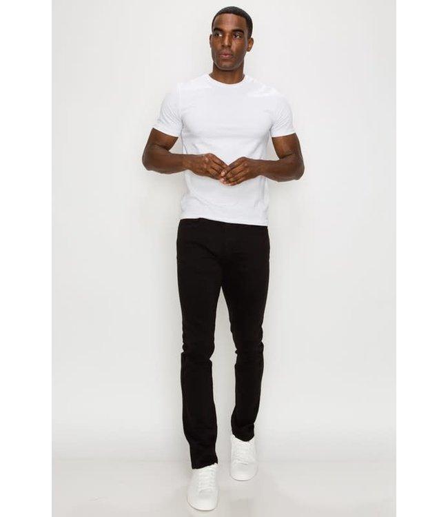 Derbyshire Clean Black Skinny Leg Jean
