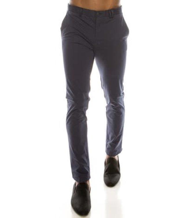 Derbyshire Navy Skinny Leg Chino