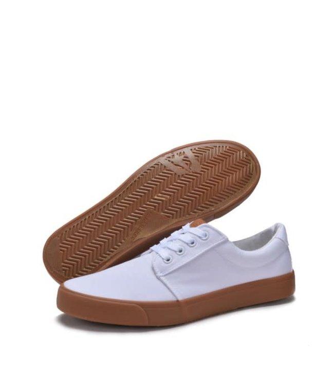 Derbyshire White Canvas Skate Shoes