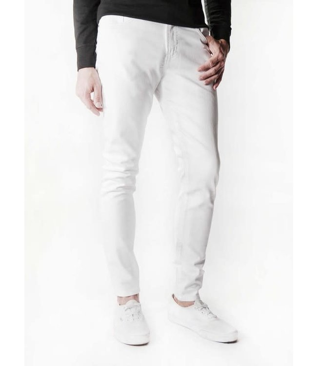Neo Blue White Skinny Jean