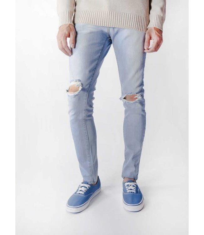 Neo Blue Broken Light Blue Skinny Jean