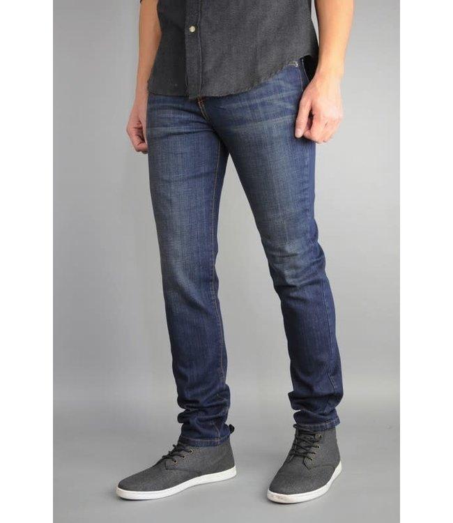Neo Blue Faded Super Dark Straight Leg Jean