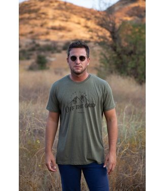 Live Life Clothing Co Off the Grid Graphic Tee