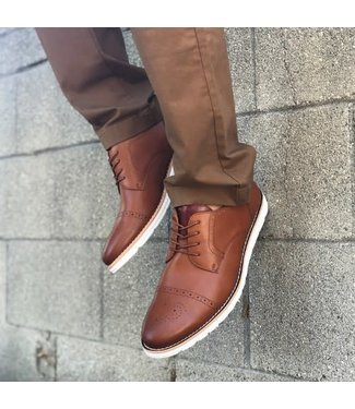 Conal Casual Brown Lace Up Oxford