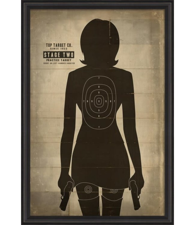Spicher and Company Human Target Hers Artwork
