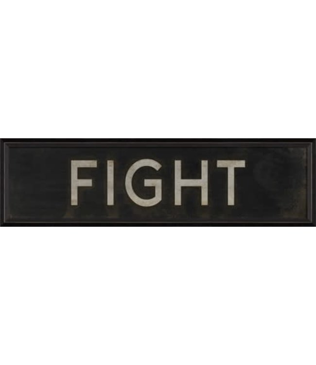 Spicher and Company Fight Sign