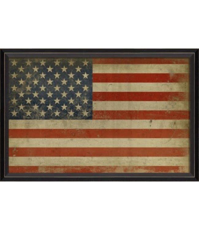 Spicher and Company America Flag Art