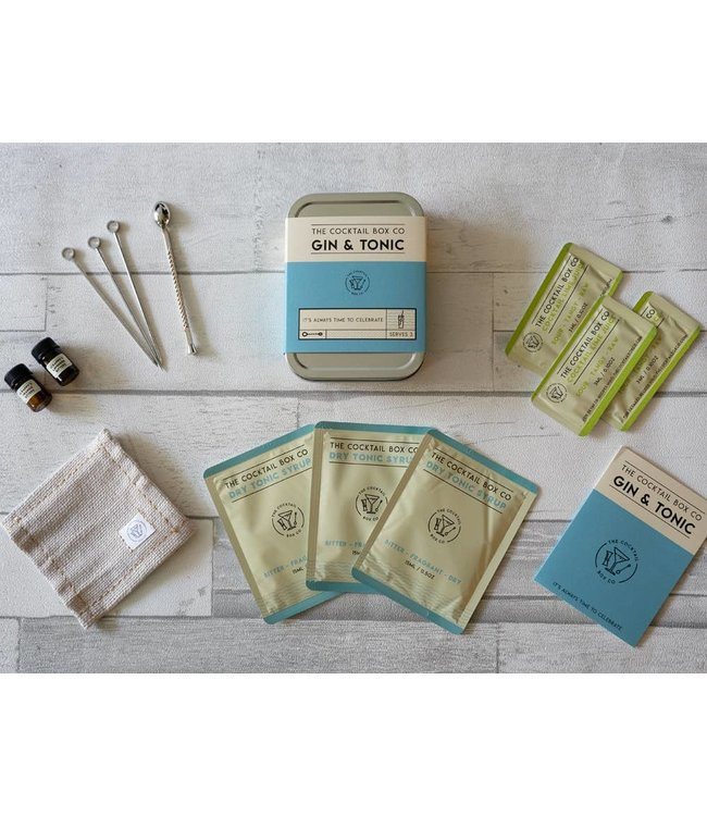 The Cocktail Box Co The Gin & Tonic Cocktail Kit