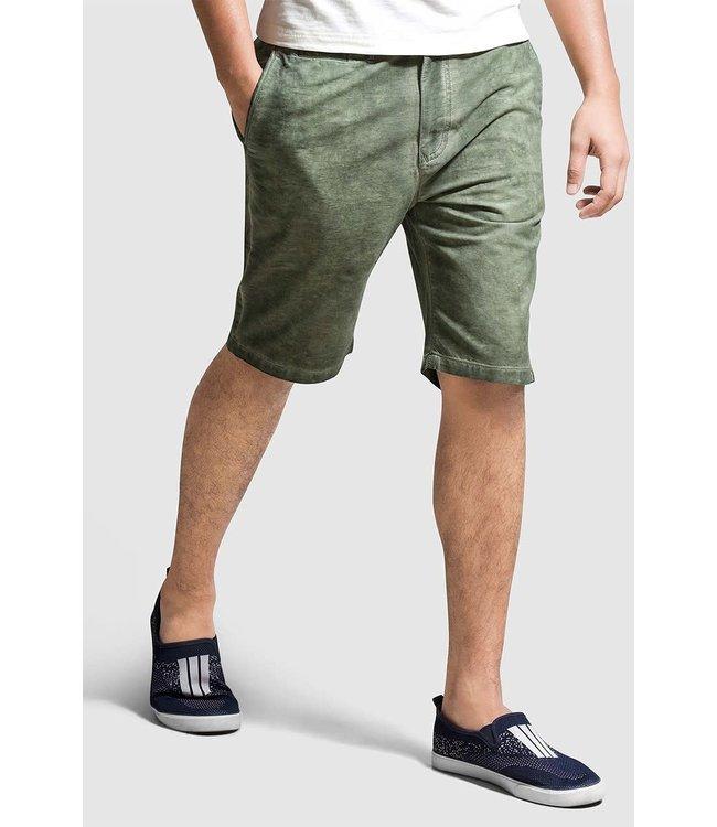 Olgyn Green Overdyed Chino Short