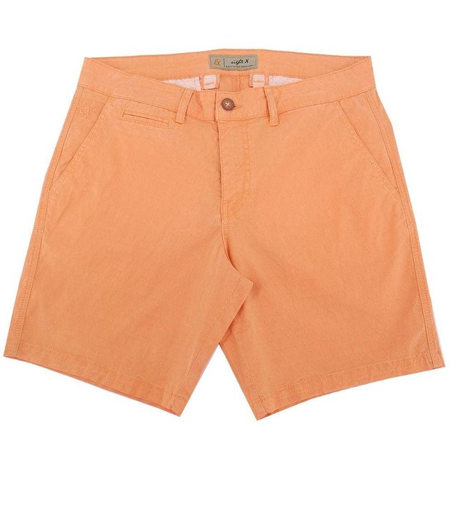 Eight X Orange Slim Fit Jacquard Shorts